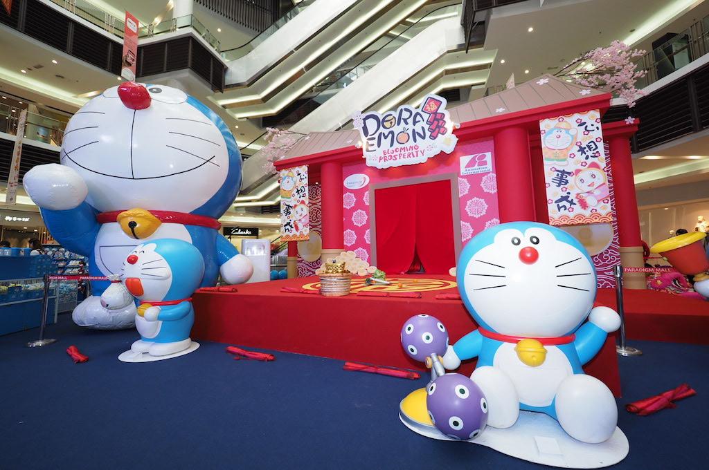 Doraemon at Paradigm Mall