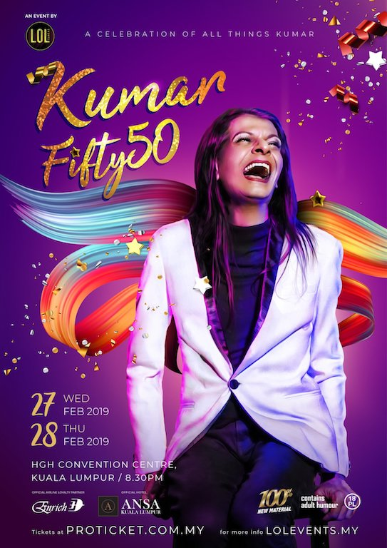 Stand Up Comedy : KUMAR Brings Laughter with Fifty50