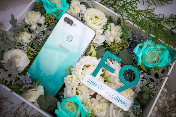 Limited Stocks of 4000 Units OPPO F9 Jade Green Sold Out