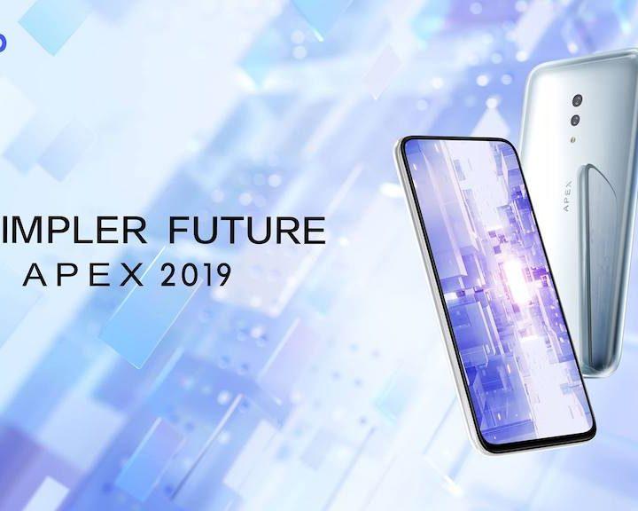 Vivo New Futuristic APEX 2019 Concept  Smartphone