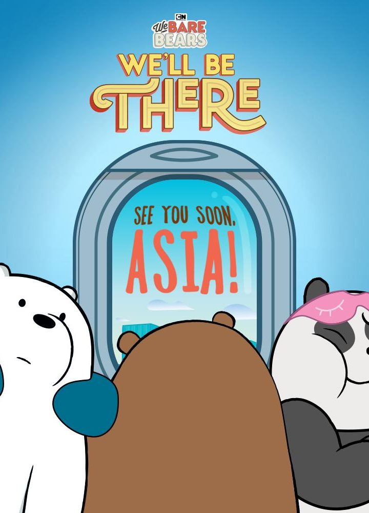 Cartoon Network's We Bare Bears are Coming to Asia!