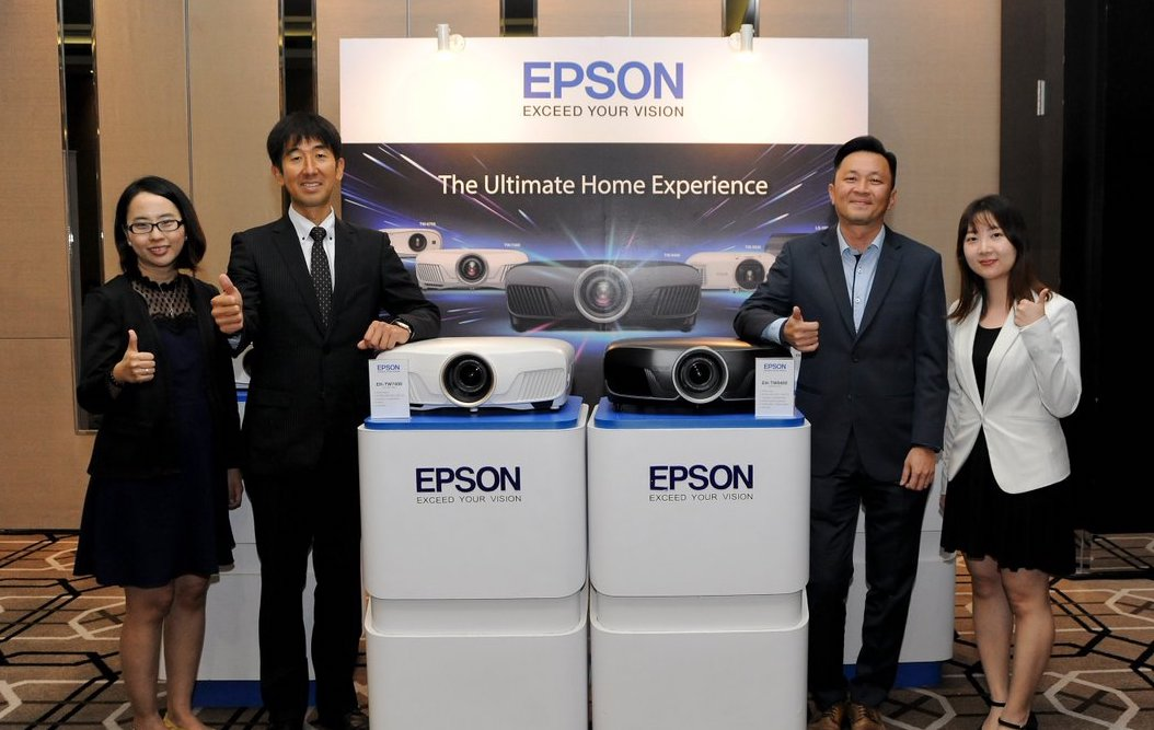 Epson 4K PRO-UHD Home Cinema Projectors