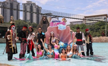 Catch Mermaids at Sunway Lagoon This School Holiday