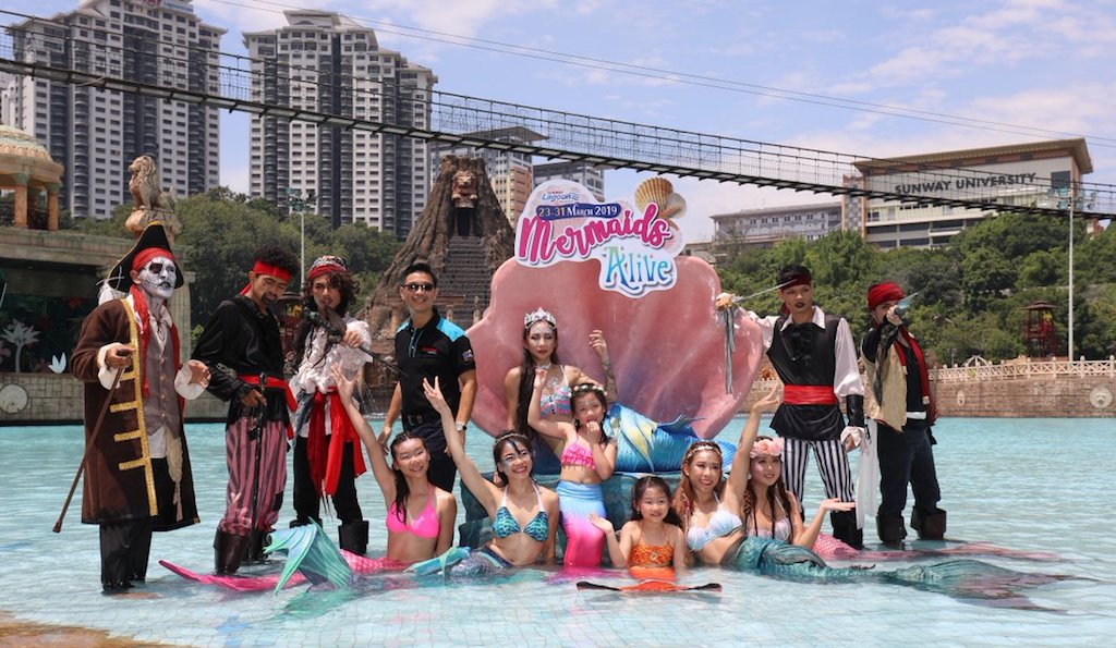 Mermaids at Sunway Lagoon