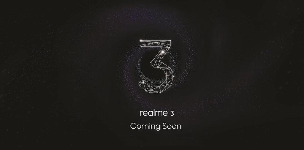 Realme 3 Coming Soon