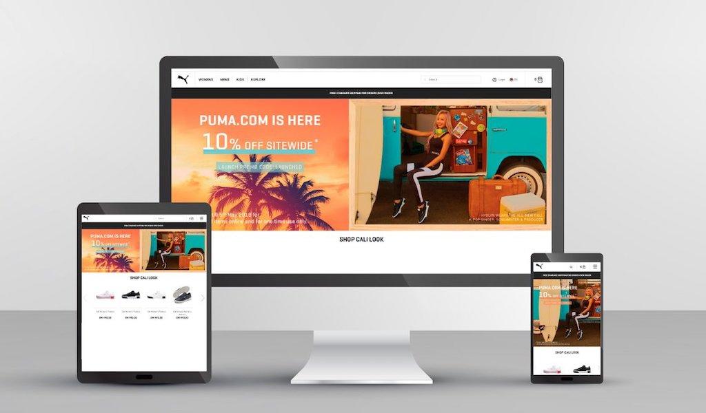 PUMA E-Commerce Platform