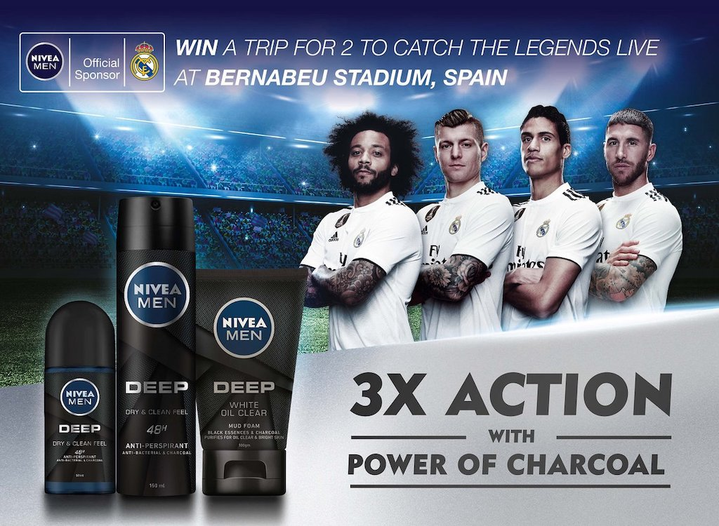 Real Madrid Live With Nivea Men