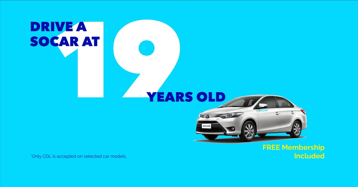 SOCAR Minimum Age Requirement