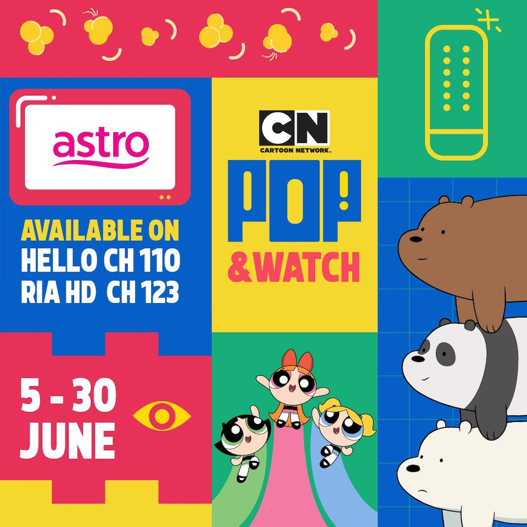 Cartoon Network Pop & Watch this Hari Raya