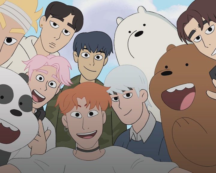 MONSTA X to Guest Star in Emmy-nominated We Bare Bears