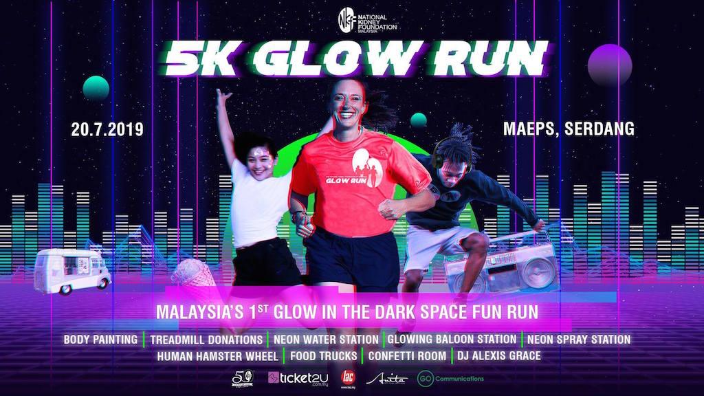 NKF Glow Run 2019