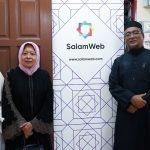 Salam Web Collaborates with Yayasan Addin