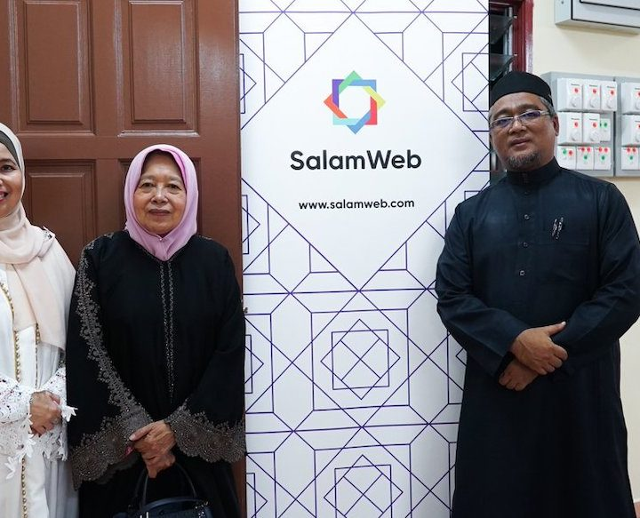 Salam Web Collaborates with Yayasan Addin