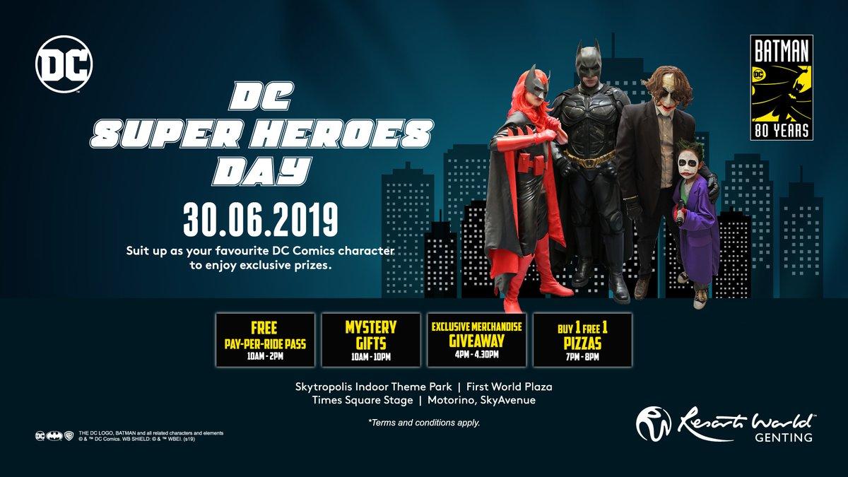 DC Superheroes Day at Resorts World Genting