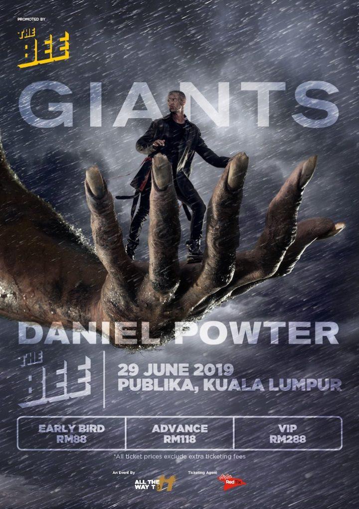 Daniel Powter Live In Kuala Lumpur @ The Bee, Publika 29 June 2019