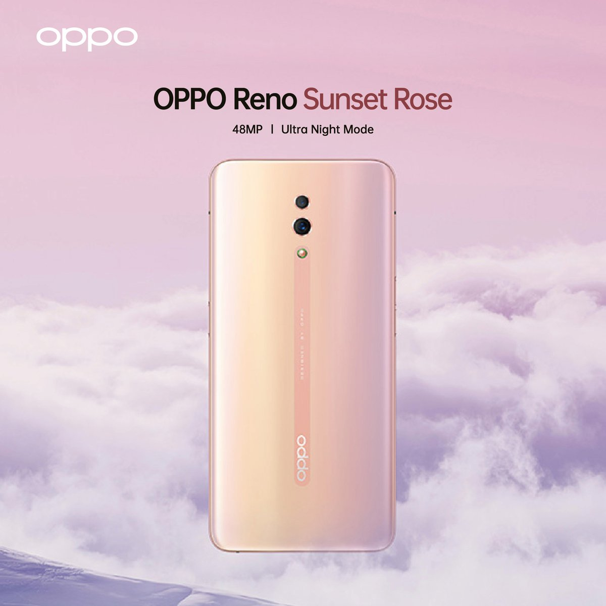 OPPO Reno Sunset Rose