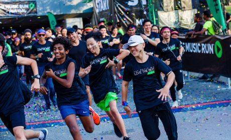 The Music Run on 23 November 2019 at KL Sports City