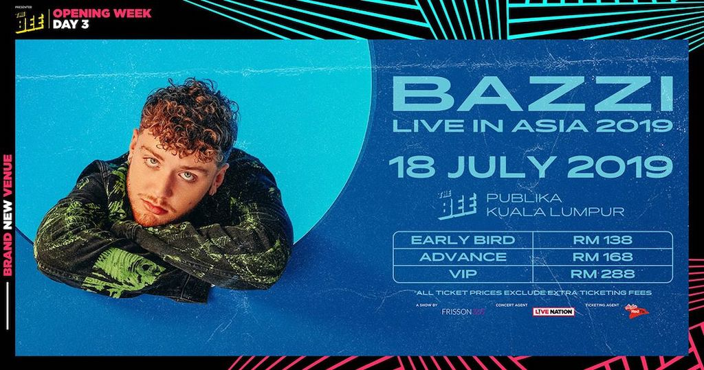 Bazzi Live in Asia 2019 The Bee