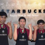 First Starbucks Signing Store