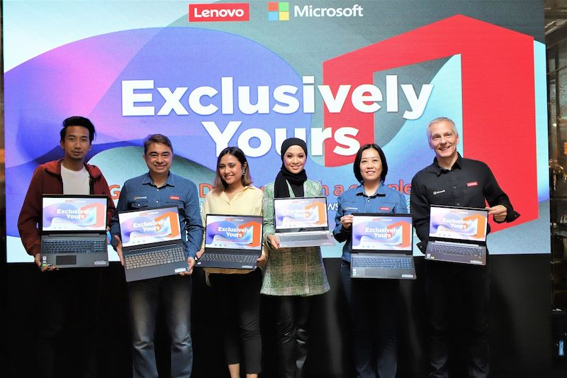 Lenovo First Offer Pre-Installed Microsoft Office Home & Student 2019  Suite