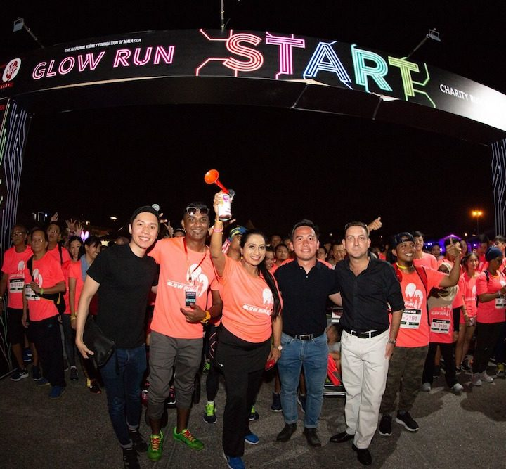 NKF Glow Run 2019 Illuminates MAEPS in Support of Kidney Health