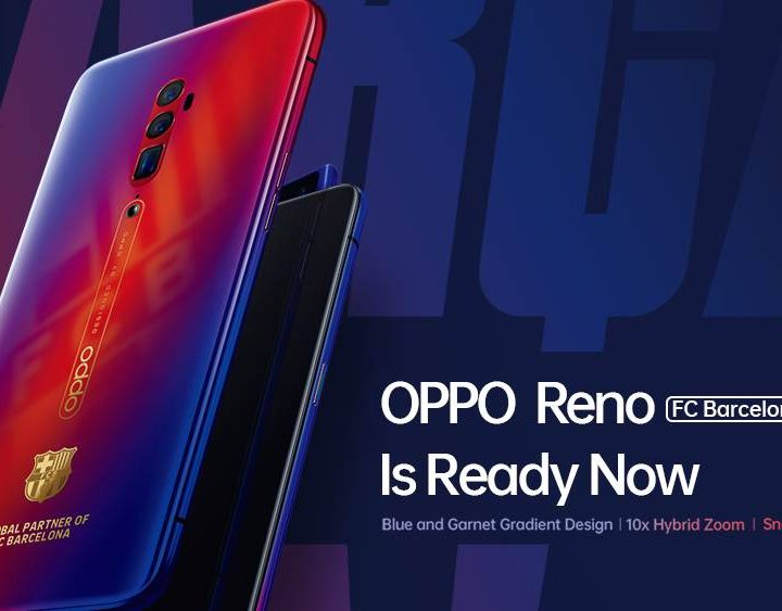 OPPO Reno FC Barcelona Edition Hit Malaysian End of July 2019
