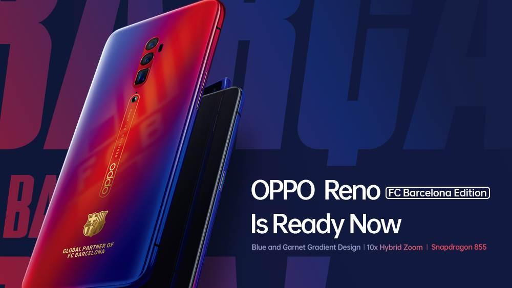 OPPO Reno FC Barcelona Edition