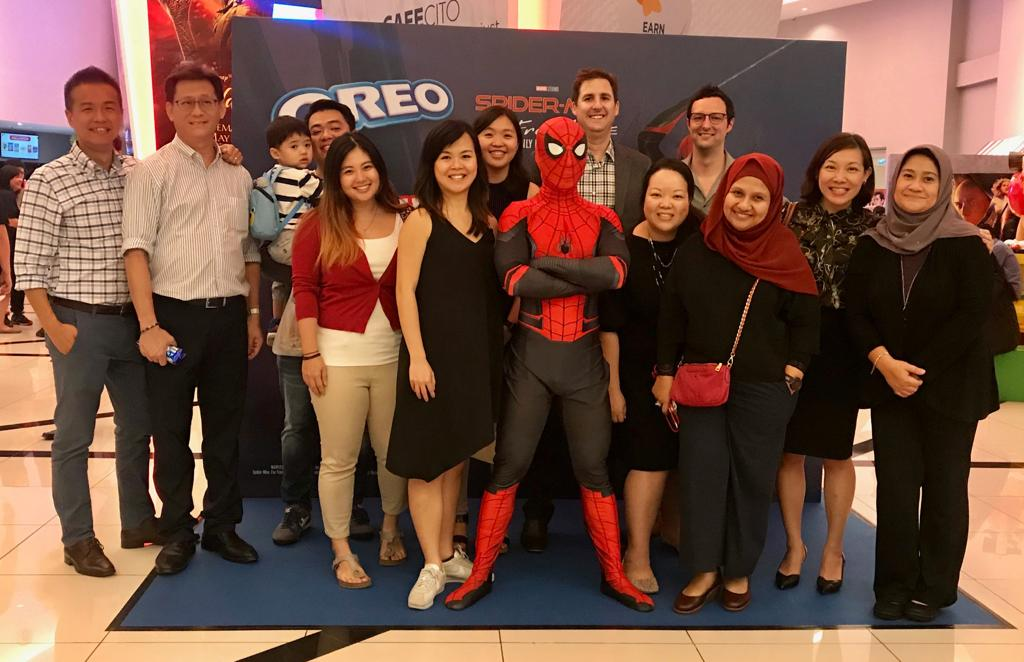 Oreo Spiderman Far From Home