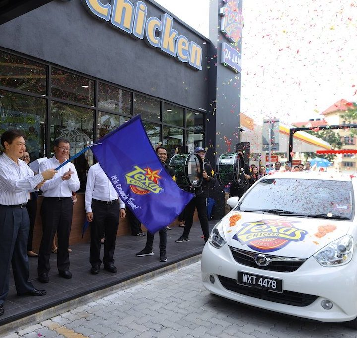 Texas Chicken Malaysia 1st Drive-Thru Outlet In Klang Valley