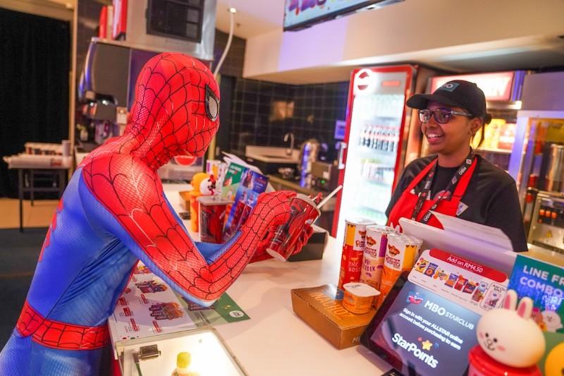 Spiderman at MBO Cinemas