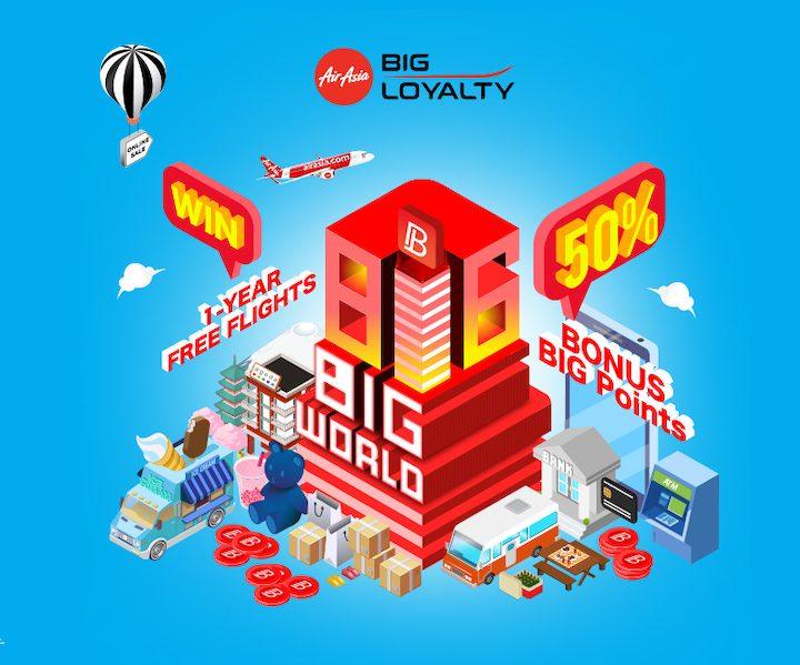 AirAsia BIG Celebrates 22 million BIG Members!