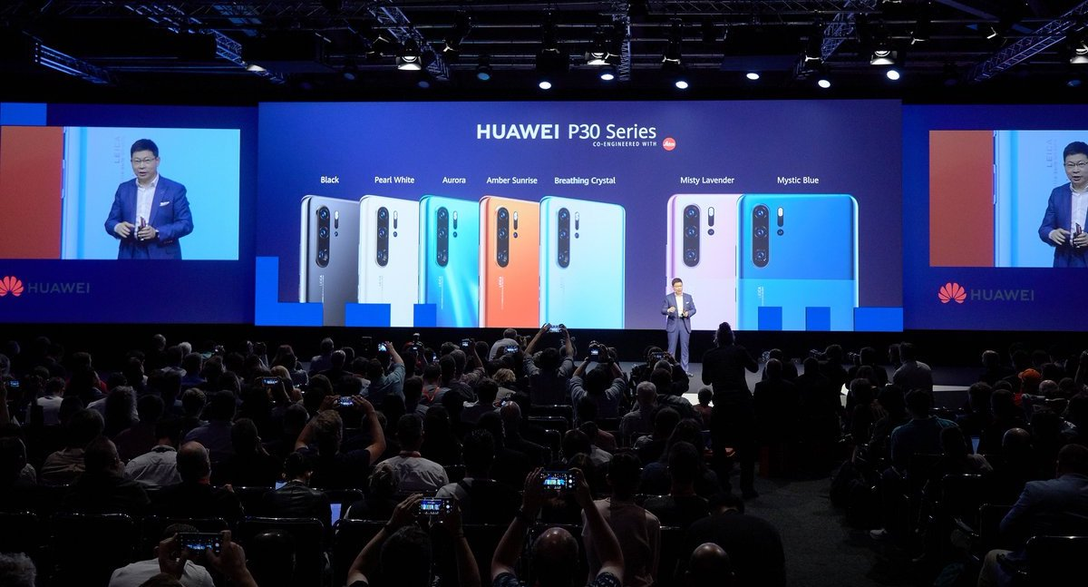 Full lineup of HUAWEI P30 Series