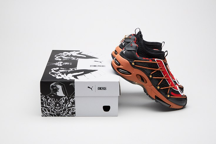 One Piece X Puma Cell Endura Inspired by Pirate Ship Thousand Sunny
