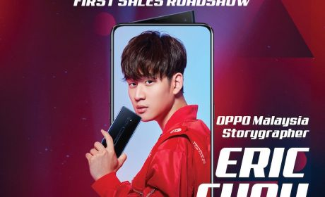 Meet Eric Chou at OPPO Reno2 Roadshow this 26th October 2019