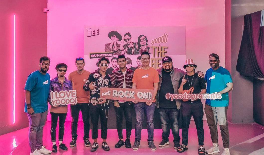 Yoodo x The Bee Presents Punkrock Party