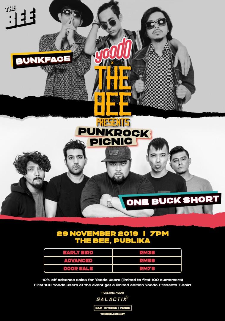Yoodo x The Bee Presents Punkrock Picnic