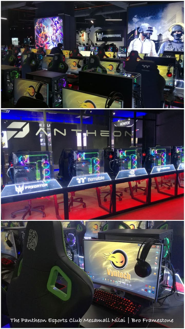 Fasiliti The Pantheon Esports Club Mesamall Nilai