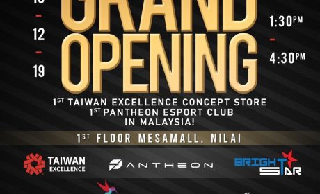 Grand Opening 1st Pantheon Esports Club at Mesa Mall, Nilai.