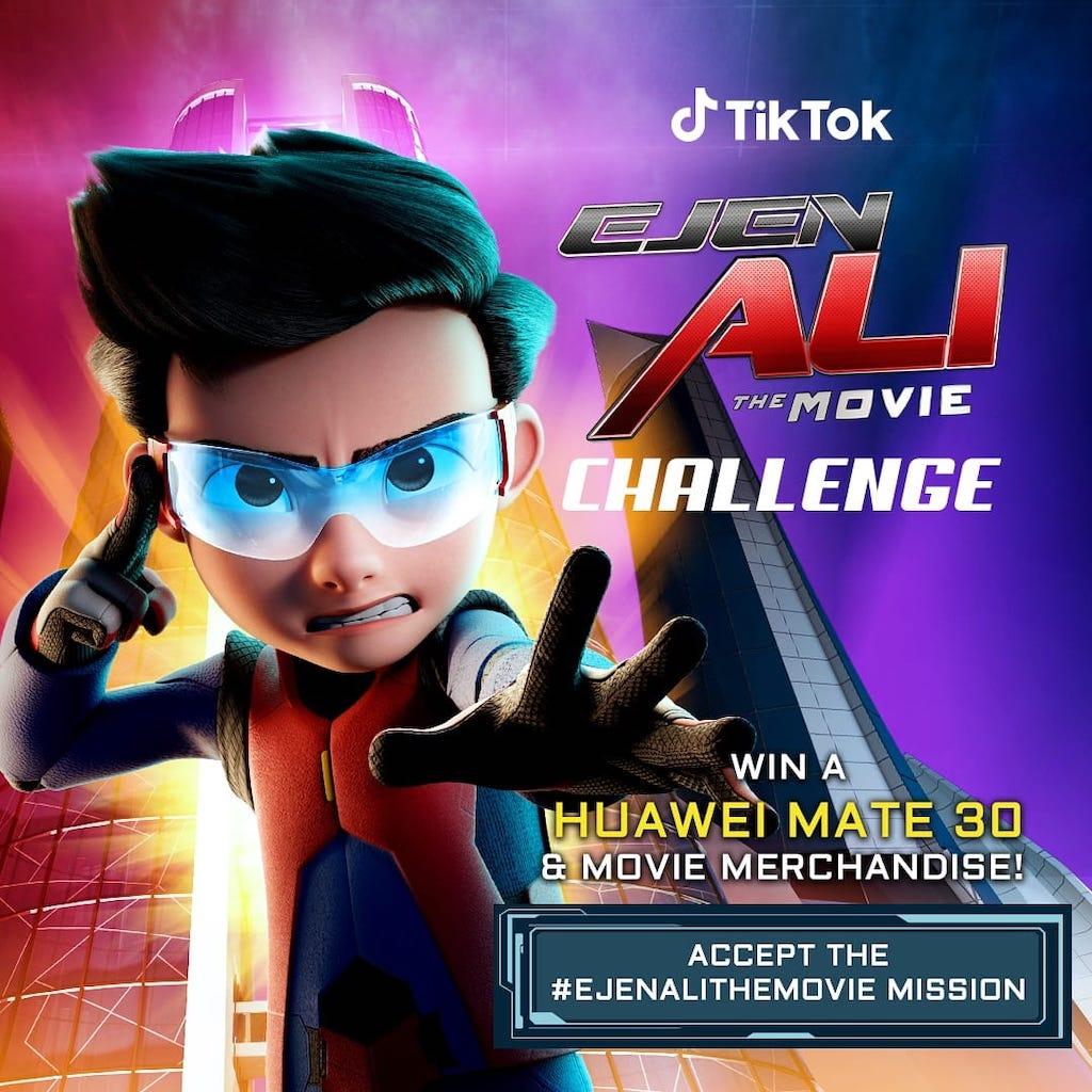 TikTok #EjenAliTheMovie Challenge
