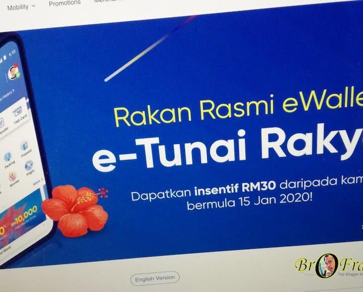 Claim RM30 'e-Tunai Rakyat' using Touch 'n Go eWallet