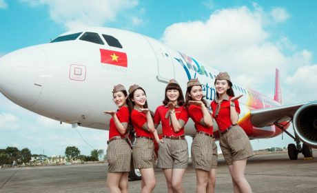 Vietjet 83% Discount Conjunction with International Women's Day