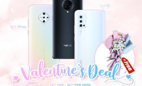 Stand A Chance to Win Vivo S1 Pro This Valentine's Day