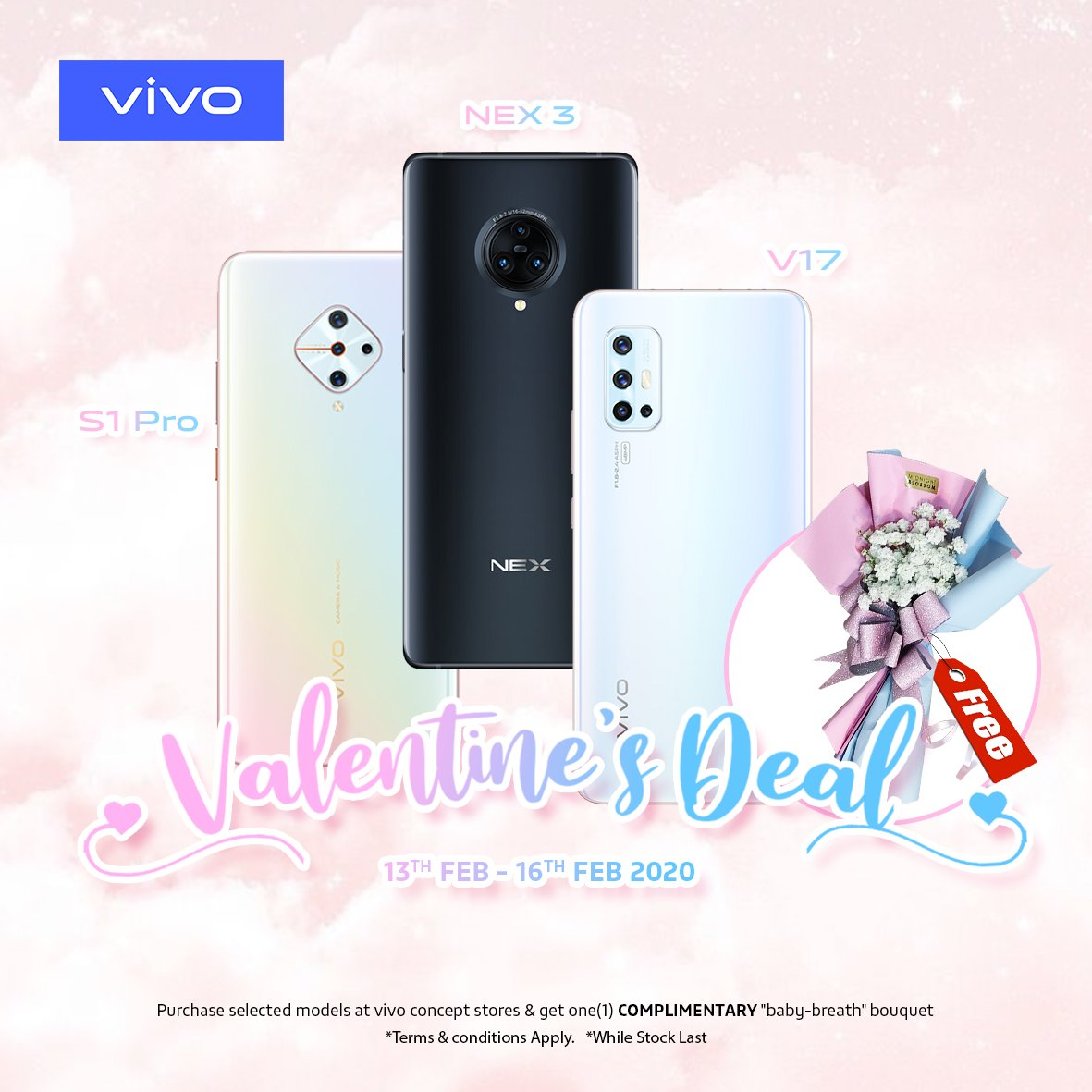 Win Vivo S1 Pro This Valentine's Day
