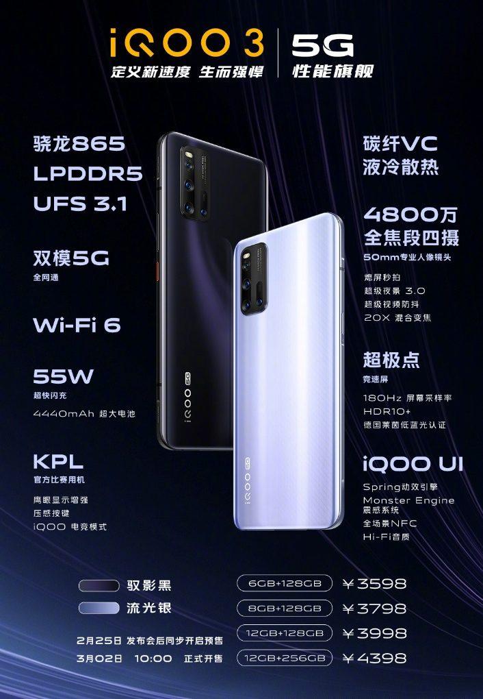 Vivo iQOO 3: Offer Ultimate Premium Flagship Smartphone Experience
