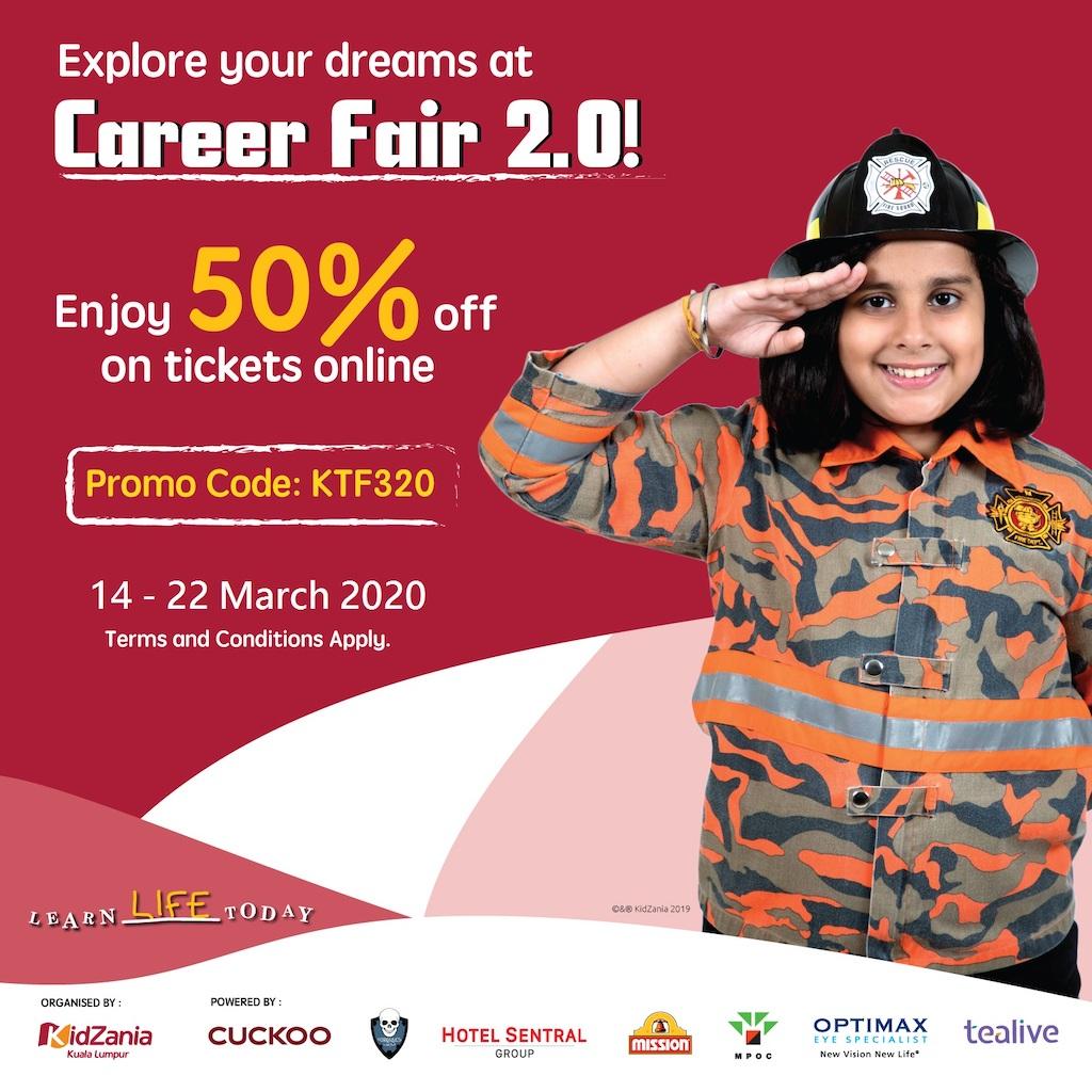 KidZania Kuala Lumpur Career Fair 2.0