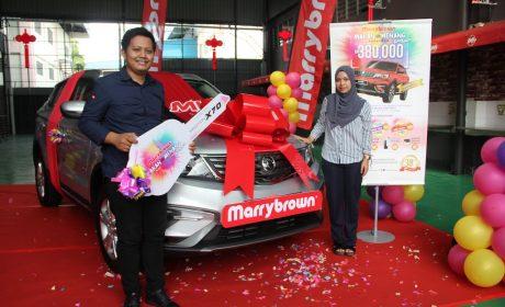 Grand Prize Winner of Marrybrown's Makan dan Menang KAW KAW