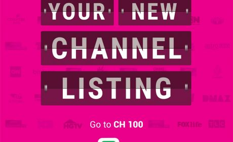 New Channel Numbers from Astro Starting 1st April 2020