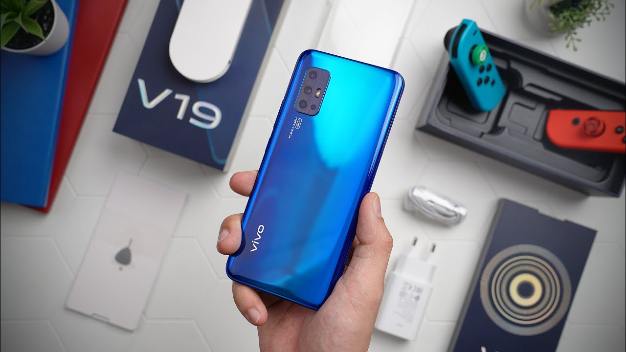 Vivo V19 Featuring 32MP Dual Front Camera
