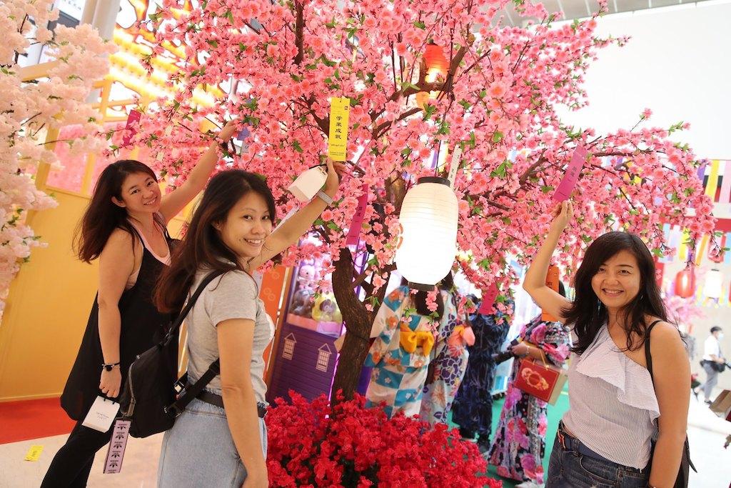 Pavilion Tokyo Street Cherry Blossoms