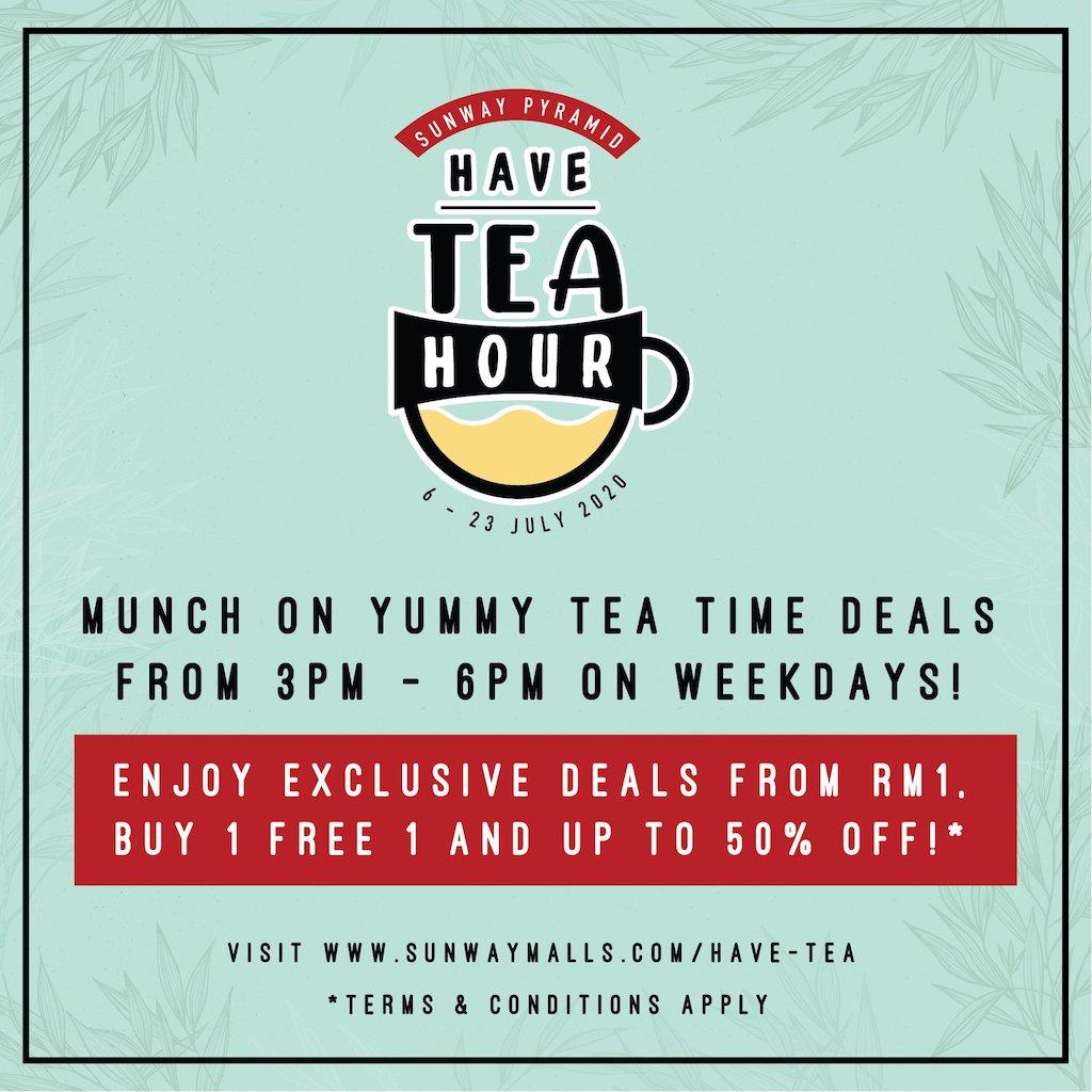 Sunway Pyramid Have Tea Hour